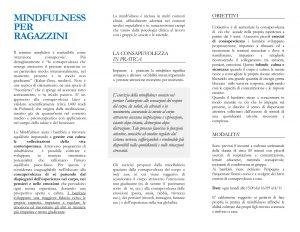 brochure-Mindfulness corso ragazzini Paolo Ricci-2